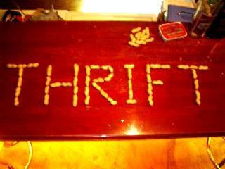 落花生『THRIFT』