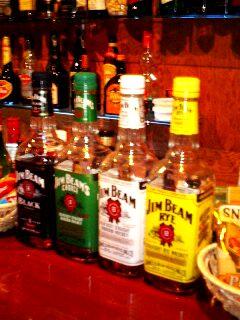 ジムビーム4瓶組